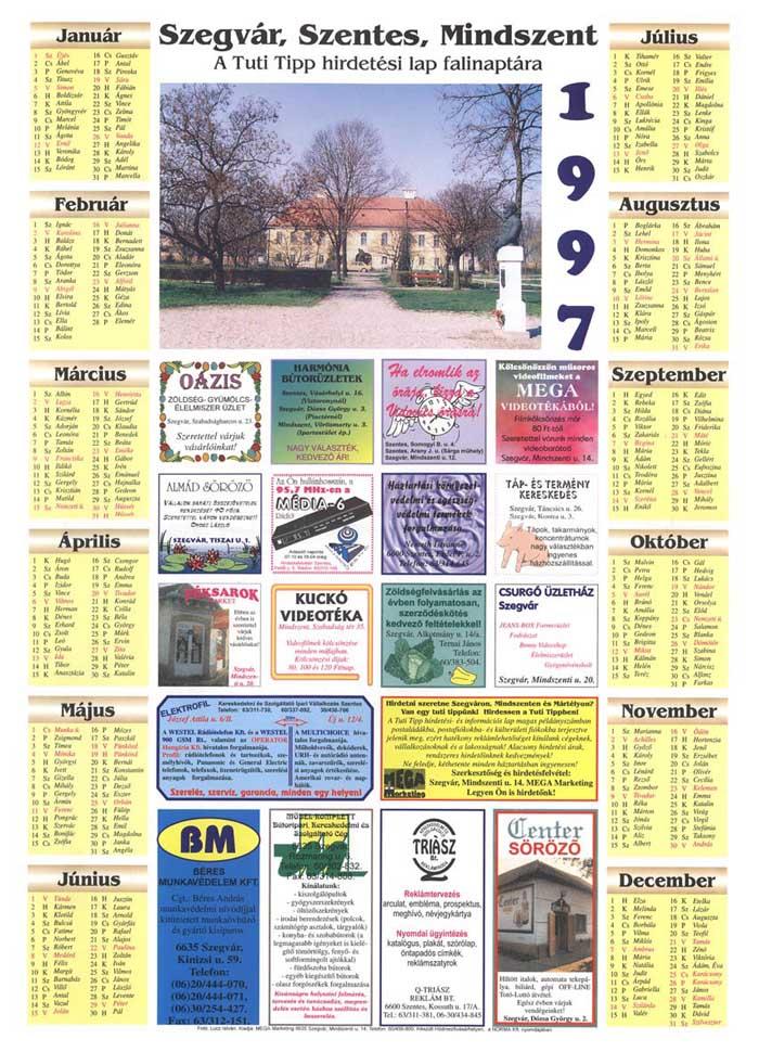 01-SzegvarSzentesMindszent1997Falinaptar-1996