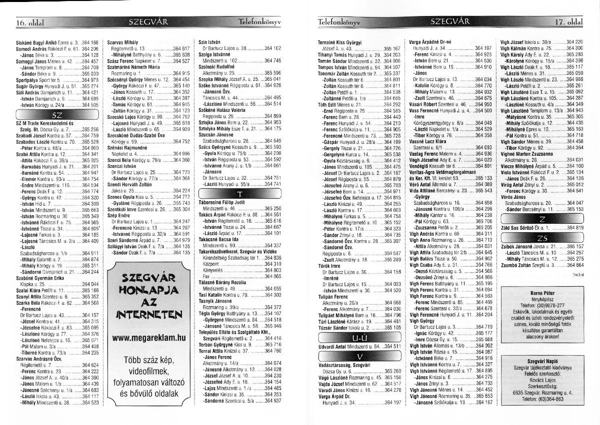 52-SzegvarInformaciosKiadvany2001-16-17